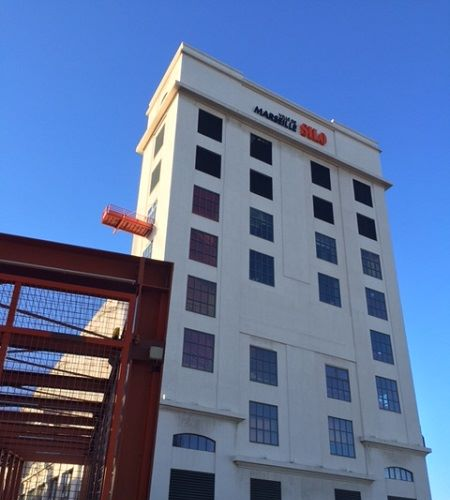 Bureaux à louer quai du lazaret dans l'immeuble du silo 13002 Marseille