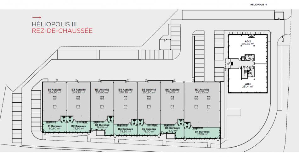 Locaux d'avtivités neufs à vendre technopole de chateau gombert 13013 Marseille
