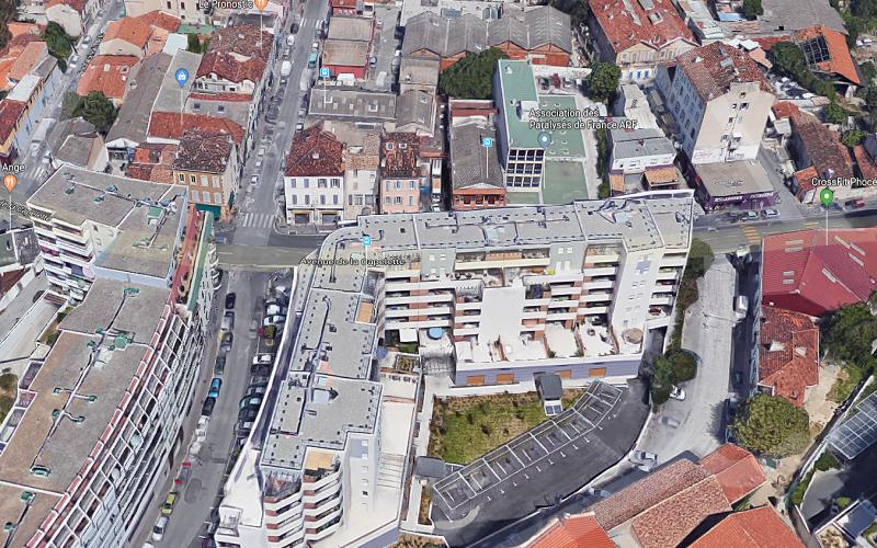 Murs de locaux commerciaux à vendre  13010 Marseille